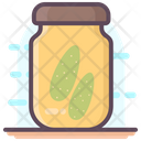 Canned Goods Pickle Jar Grocery Storage Icon