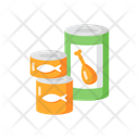 Canned Goods And Soups Icon