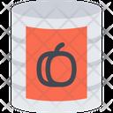 Canned Peach Peach Apricot Icon