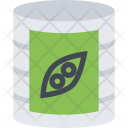 Canned Peas Food Icon