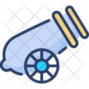 Cannon Military Gun Icon