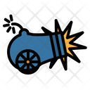 Cannon Artillery Fuse Icon