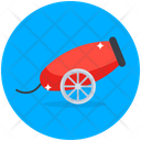 Cannon Howitzer Field Gun Icon