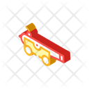 Medieval Cannon Isometric Icon
