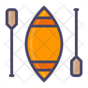 Paddle Boat Water Icon