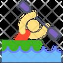 Canoe Boat Boating Icon