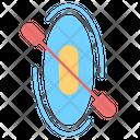 Canoe Adventure Sport Icon