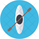 Canoe Oar Oars Icon