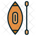 Paddle Water Boat Icon