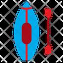Canoe Beach Boat Icon