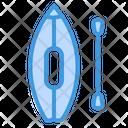 Canoe Boat Kayak Icon