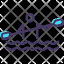Canoe Sprint Paralympic Icon