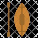Canoe Paddle Water Icon