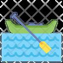 Canoeing Canoe Kayak Icon