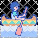 Canoeing Canoe Boat Icon