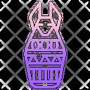 Canopic Jar Jar Egyptian Jar Icon