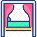 Canopy Bed Cozy Bed Hanging Icon