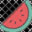 Cantaloupe Food Fruit Icon