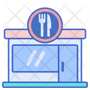 Canteen Lunch Food Icon