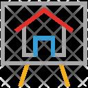 Canvas House Art Icon