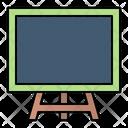 Canvas Presentation Blackboard Icon