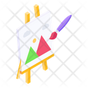 Canvas Painting Drawing Icon