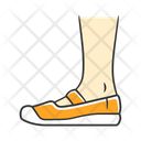 Shoe Footwear Canvas Icon