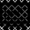 Canvas Easel Graph Icon