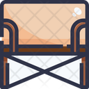Canvas Chair Icon