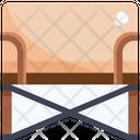 Canvas chair Icon
