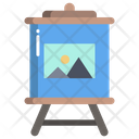 Canvas Painting Icon