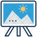 Artboard Canvas Painting Icon