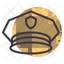 Cap Police Officer Icon