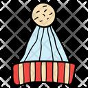 Boater Woolen Cap Cap Icon