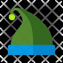 Cap Hat Christmas Icon