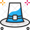 Thanksgiving Day Cow Cap Hat Icon
