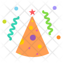 Cone Cap Birthday Icon