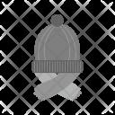 Cap Scarf Icon