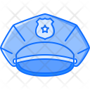 Cap Policeman Law Icon