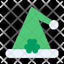 Cap Shamrock Irish Icon