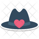 Cap With Heart Icon