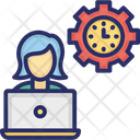 Capability Process Of Planning Productivity Icon