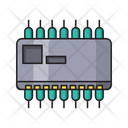 Capacitor Power Technology Icon