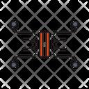 Capacitor Power Lab Icon