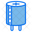 Capacitor Semiconductor Electronics Icon