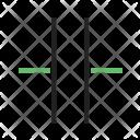 Capacitor Circuit Icon
