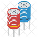 Capacitors Icon