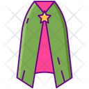 Cape Magical Cape Magician Cloak Icon