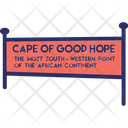 Cape Of Good Hope South Africa Mountain Icon