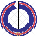 Cape Verde Country Icon